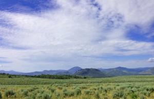 Sheep Mountain and horizon