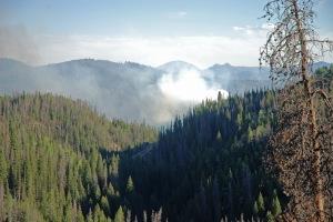 smoke over Battle Creek