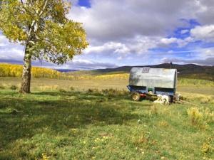Eutemio's wagon at Dudley Creel