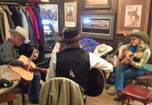 Jammin' st the Star--National Cowboy Poetry Gathering