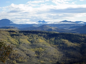Bears Ears from the Overlook