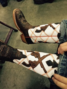 McCoy's new boots