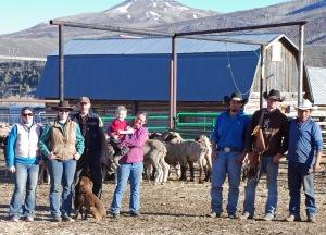 crew: Katie, Brittany, Randy, Tiarnan, Meghan, bucks, Randall, Cody, and Edgar