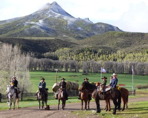 Cowboy crew--Rhen, Eamon, Cody, Britteny, Brenden, Amy, McCoy, Megan, Amy