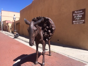 Burro in Burro Alley, Santa Fe, New Mexico