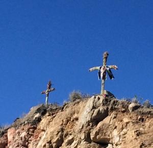 crosses above Cruz del Condor